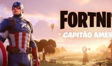 Fortnite lança skin do Capitão América