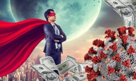 Nerd de negócios e economia pós-pandemia